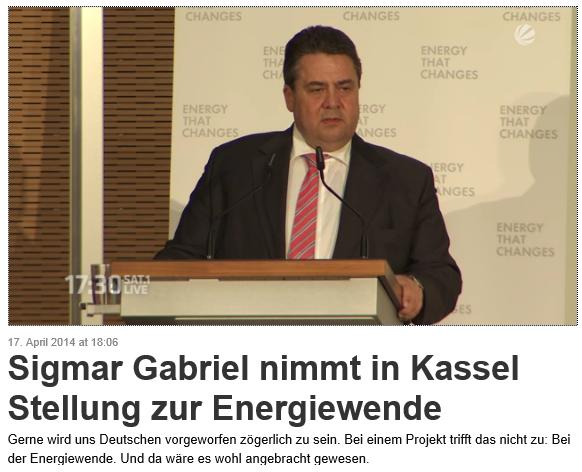 Gabriel in Kassel