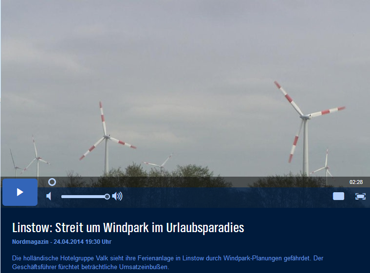 Windkraft wider Wellness