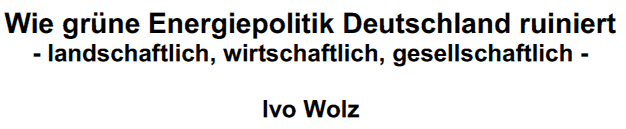 Ausarbeitung Ivo Wolz