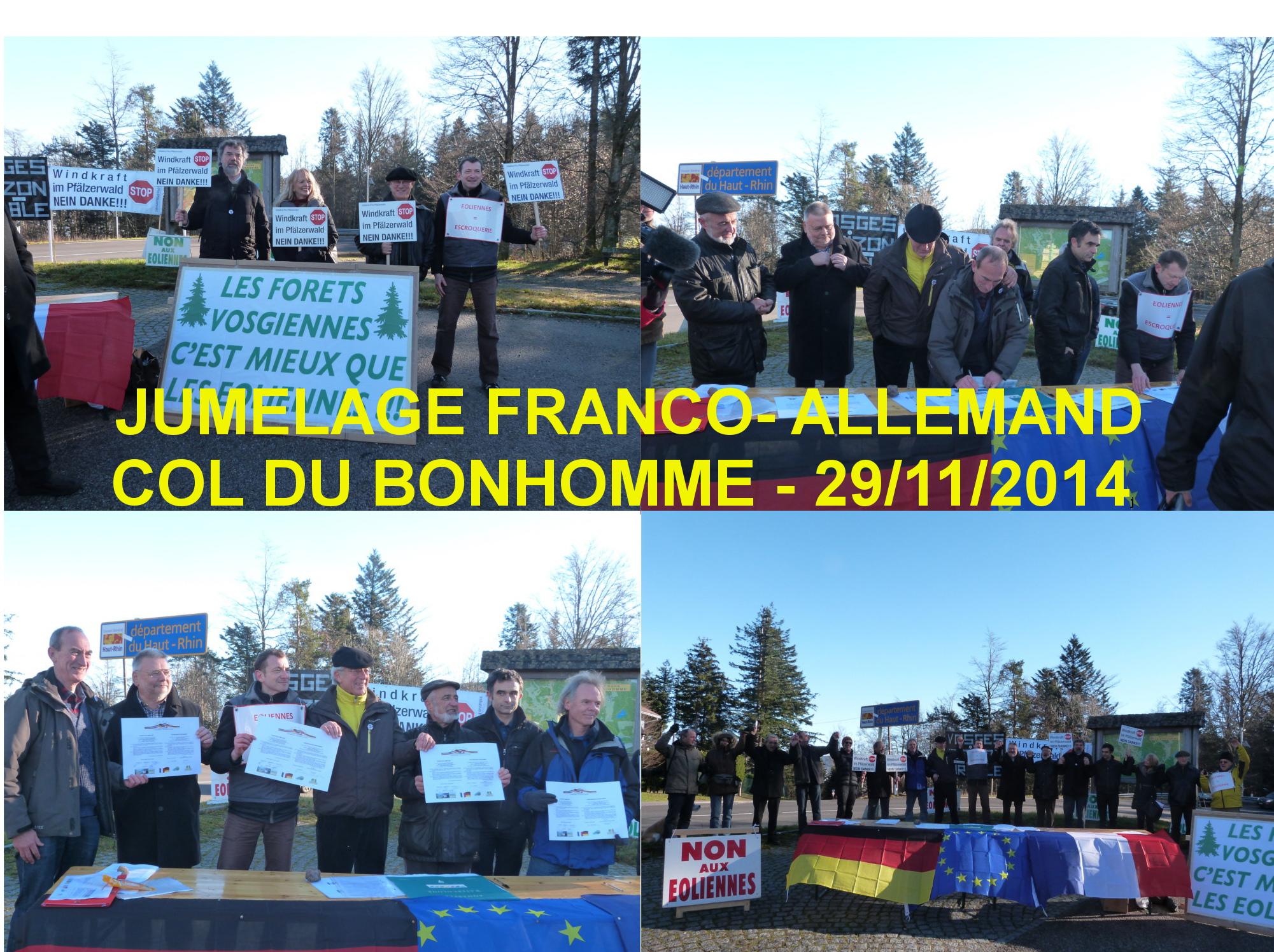 JUMELAGE_FRANCO_ALLEMAND_COL du Bonhomme_29-11-2014