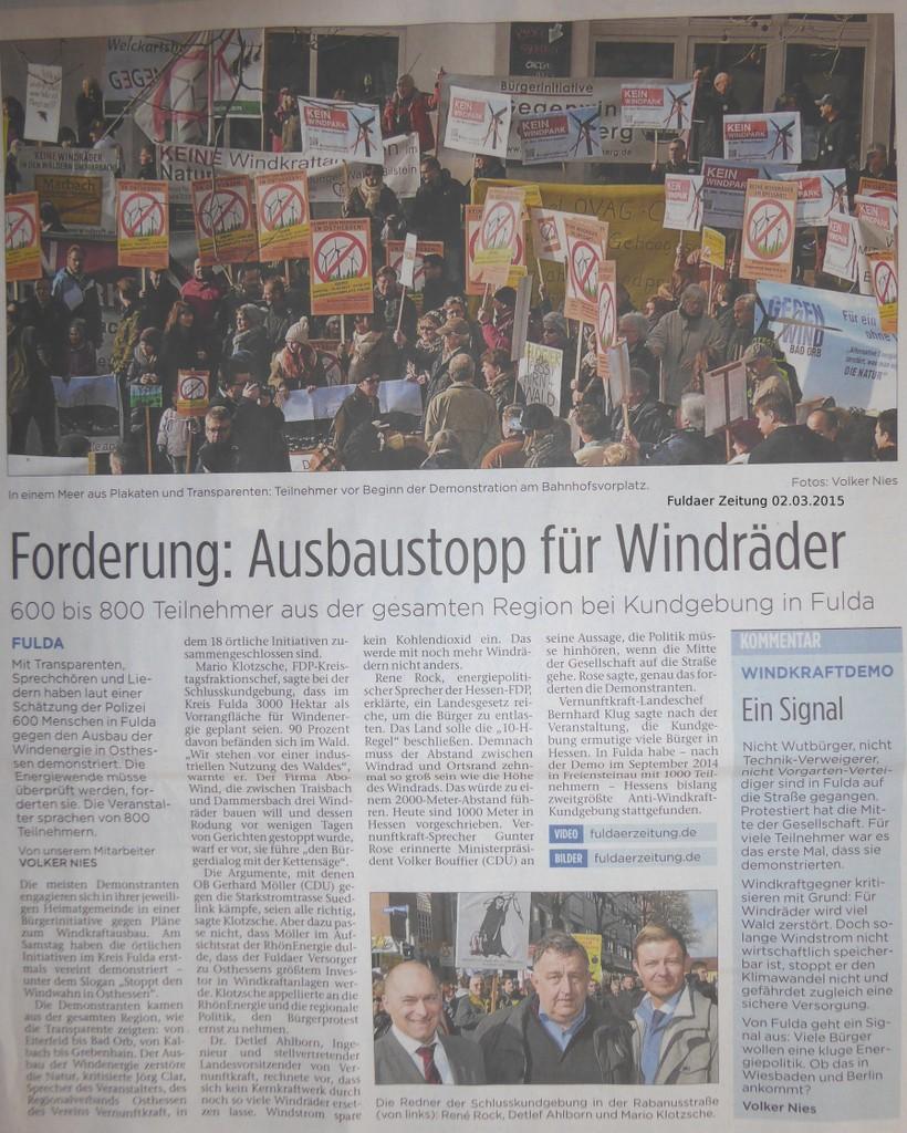 Fuldaer Zeitung vollständig