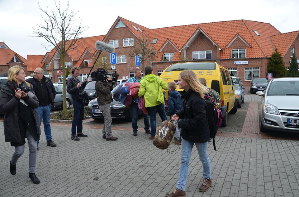 Aufgeweckte Friesen fordern Asyl