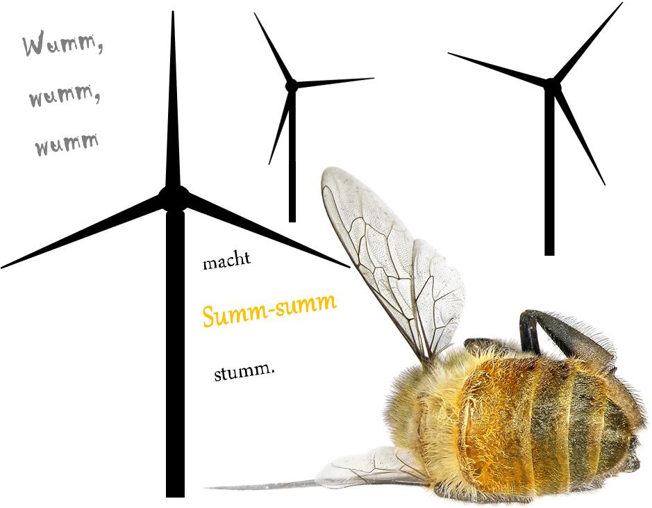 Insektensterben Windräder